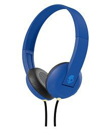 Skullcandy Uproar On Ear Wireless Headphones With Mic Blue
