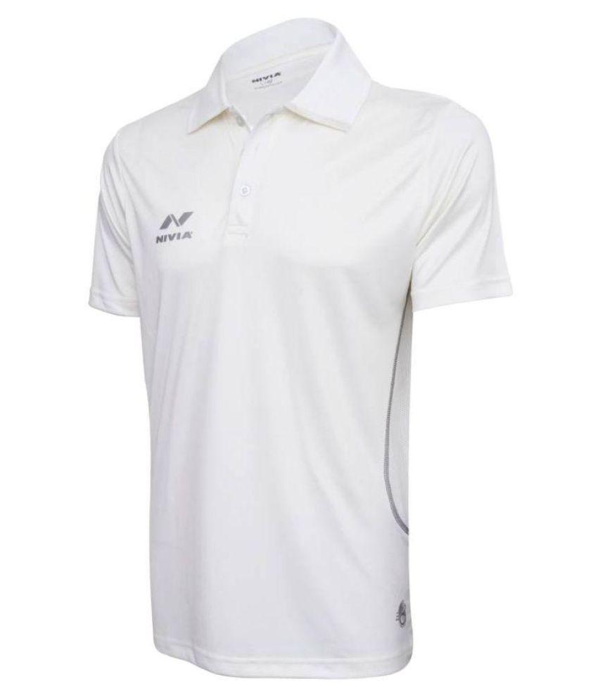 Nivia Lords Cricket Jersey (Half Sleeves)