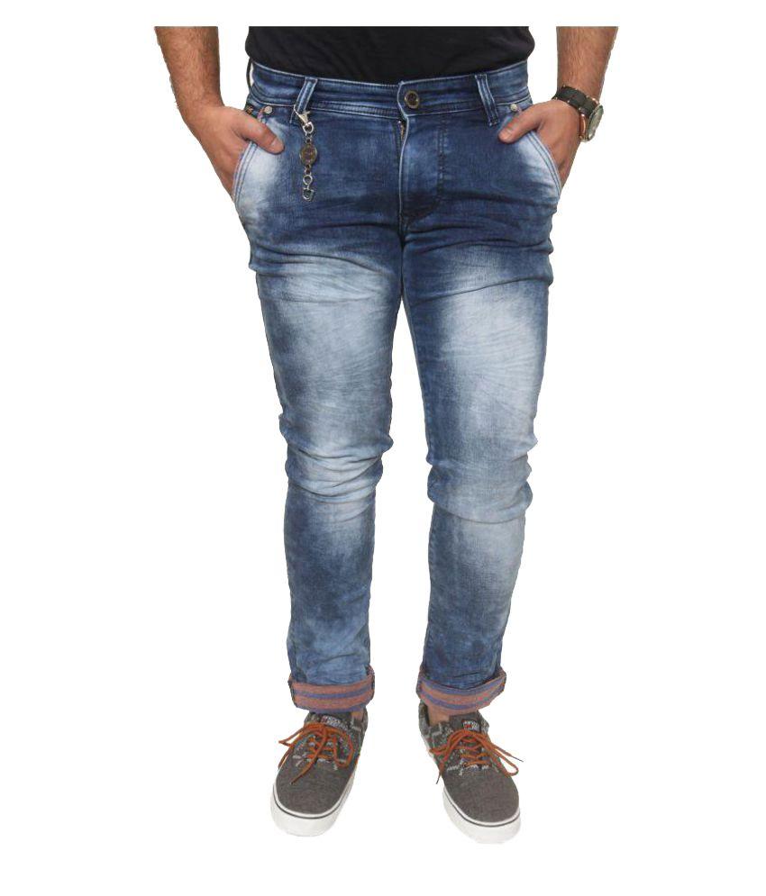 RedWyne Blue Slim Jeans