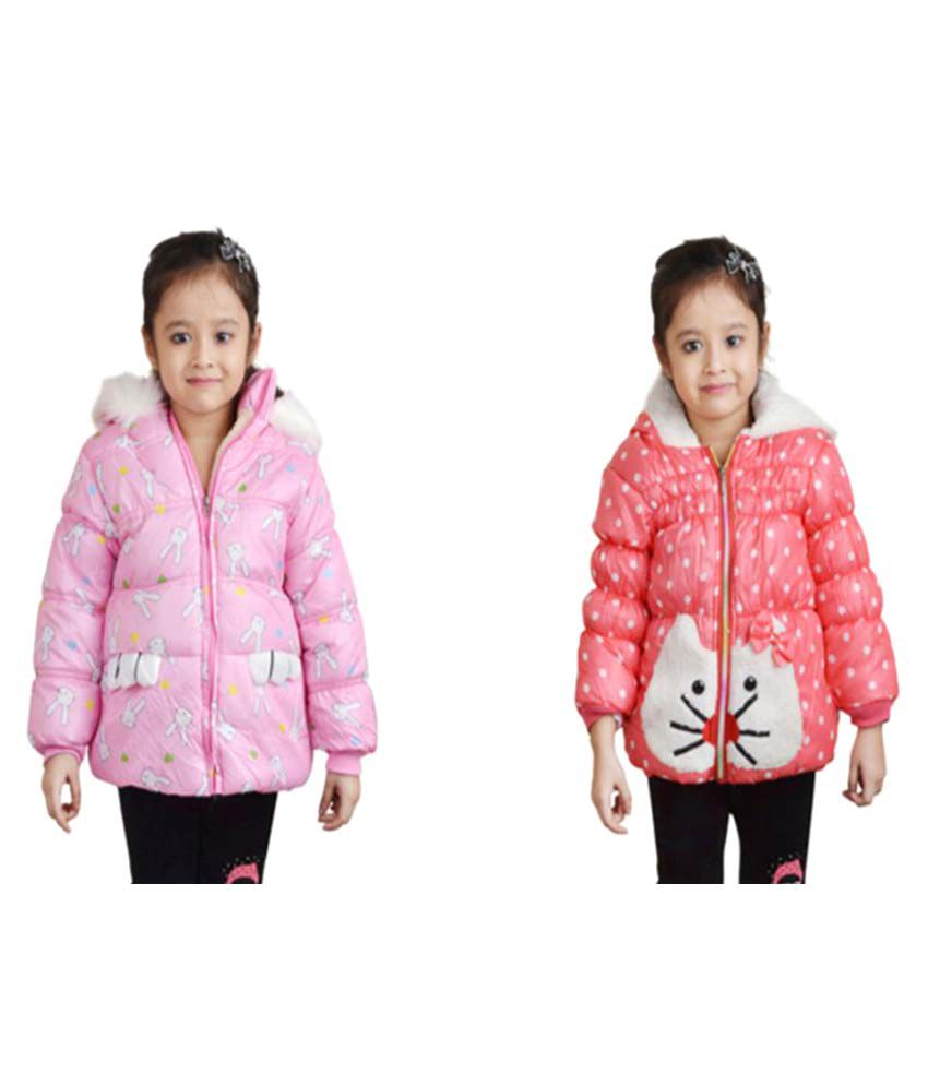 Crazeis Multicolor Nylon Jacket- Pack of 2