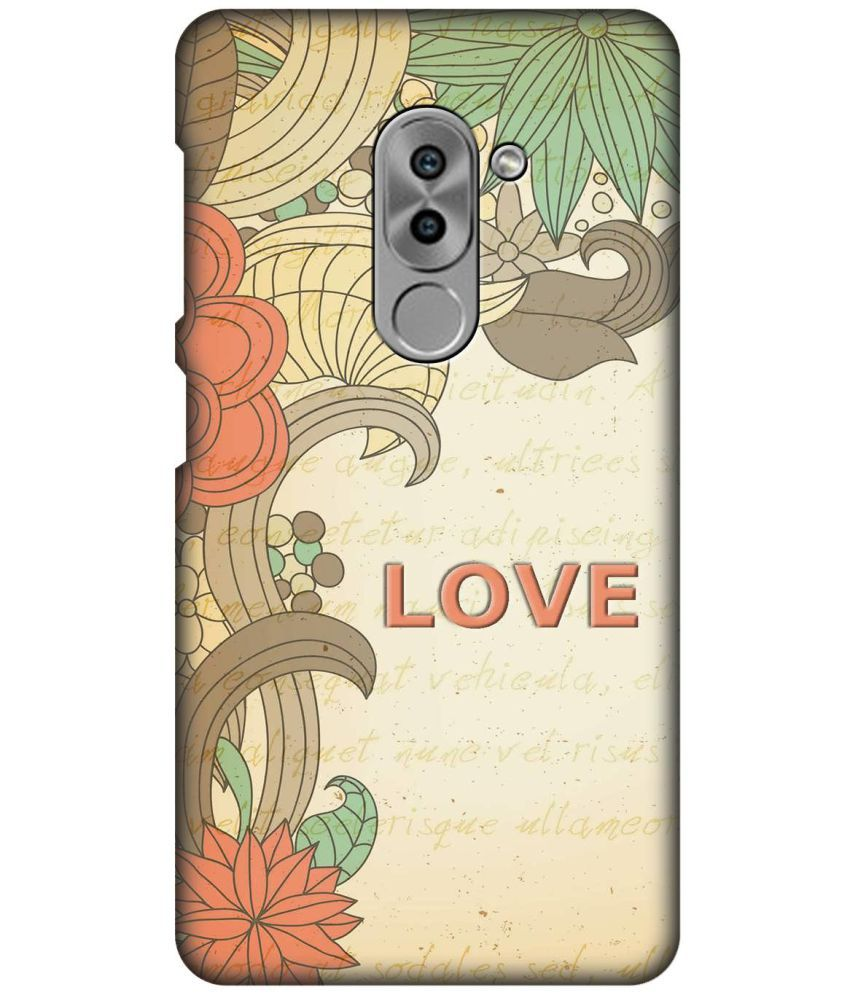 Huawei Honor 6X Printed Cover By SWAGMYCASE