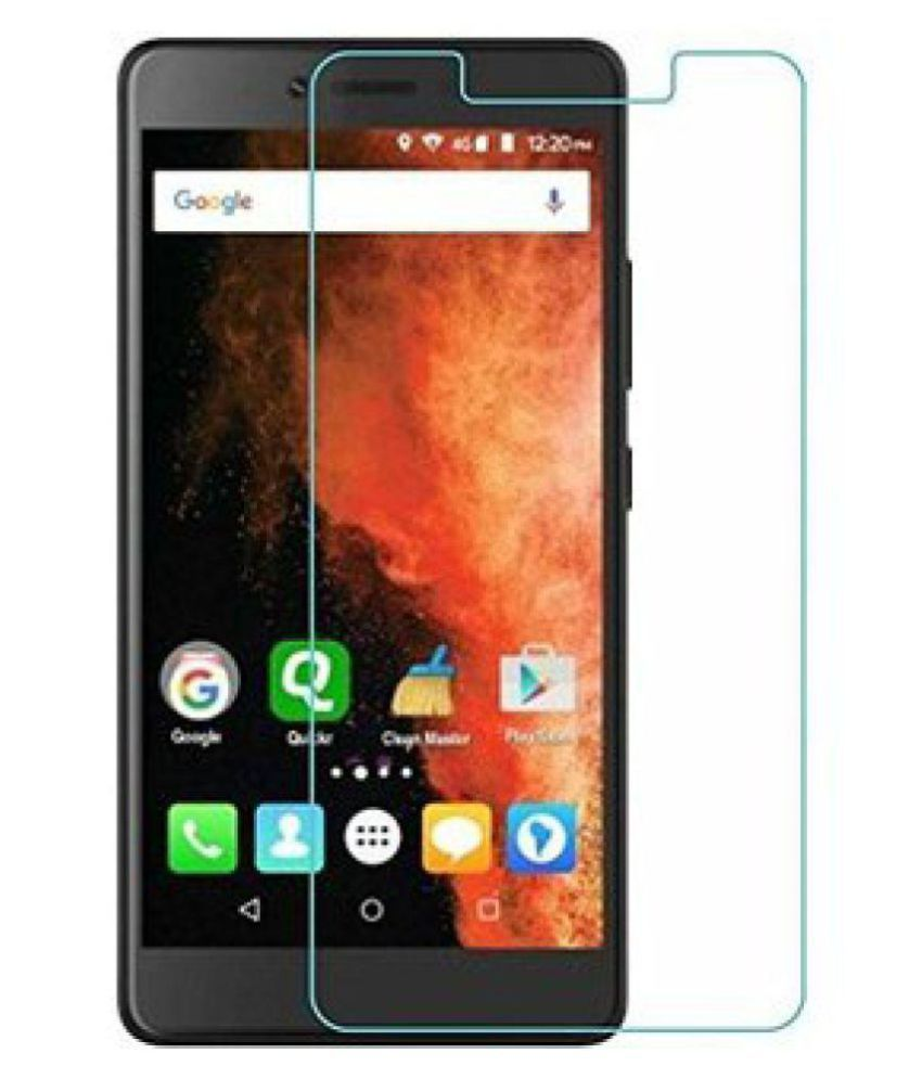 LYF Wind 5 Tempered Glass Screen Guard By DDF