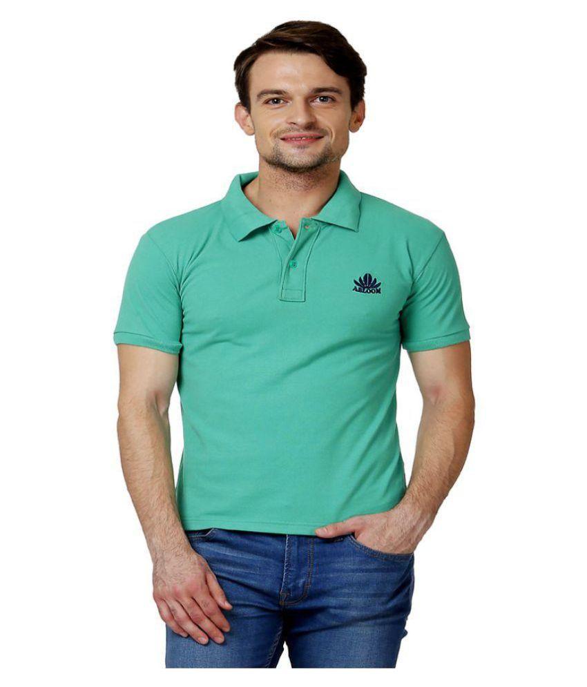 Abloom Green Henley T-Shirt