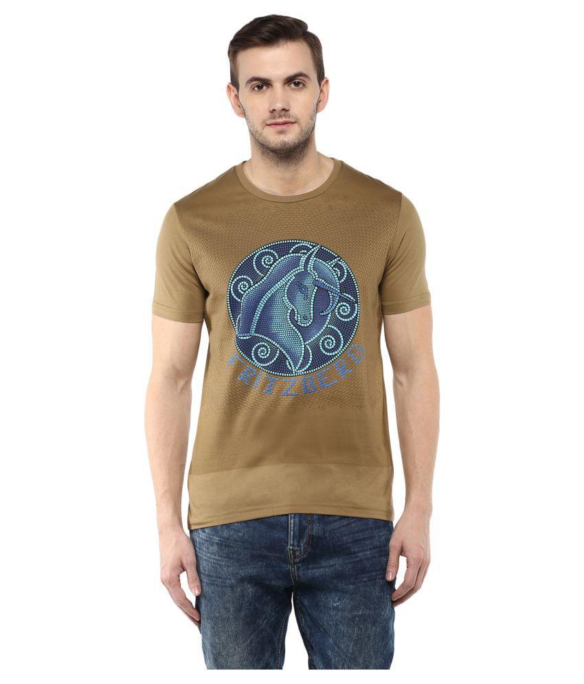 Fritzberg Brown Round T-Shirt