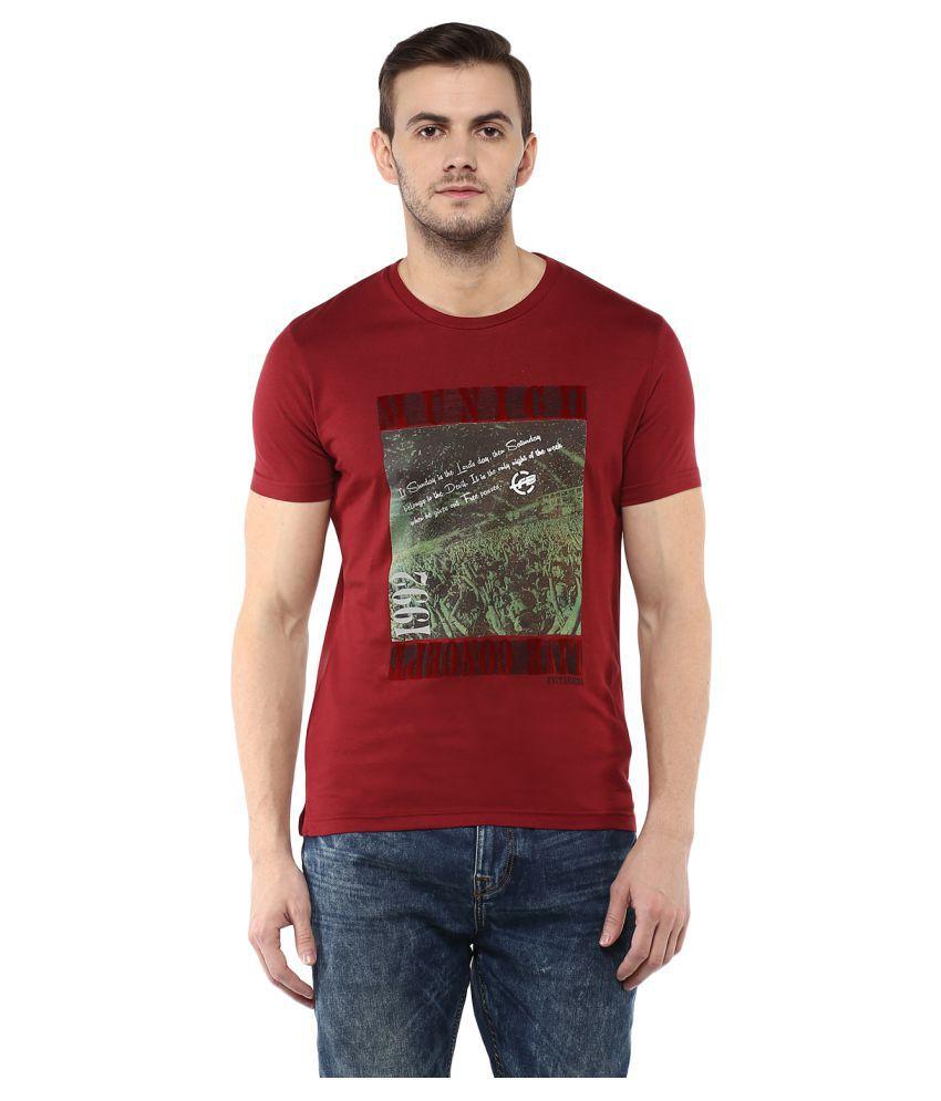 Fritzberg Red Round T-Shirt