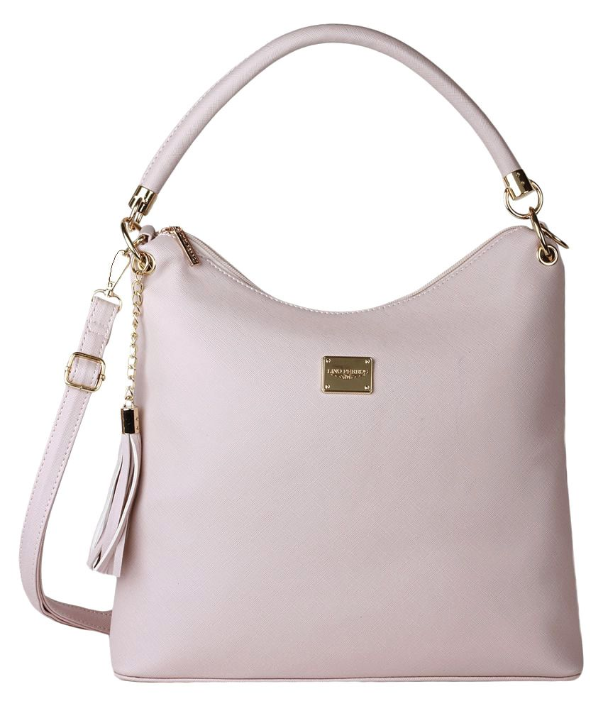 Lino Perros Pink Artificial Leather Handheld