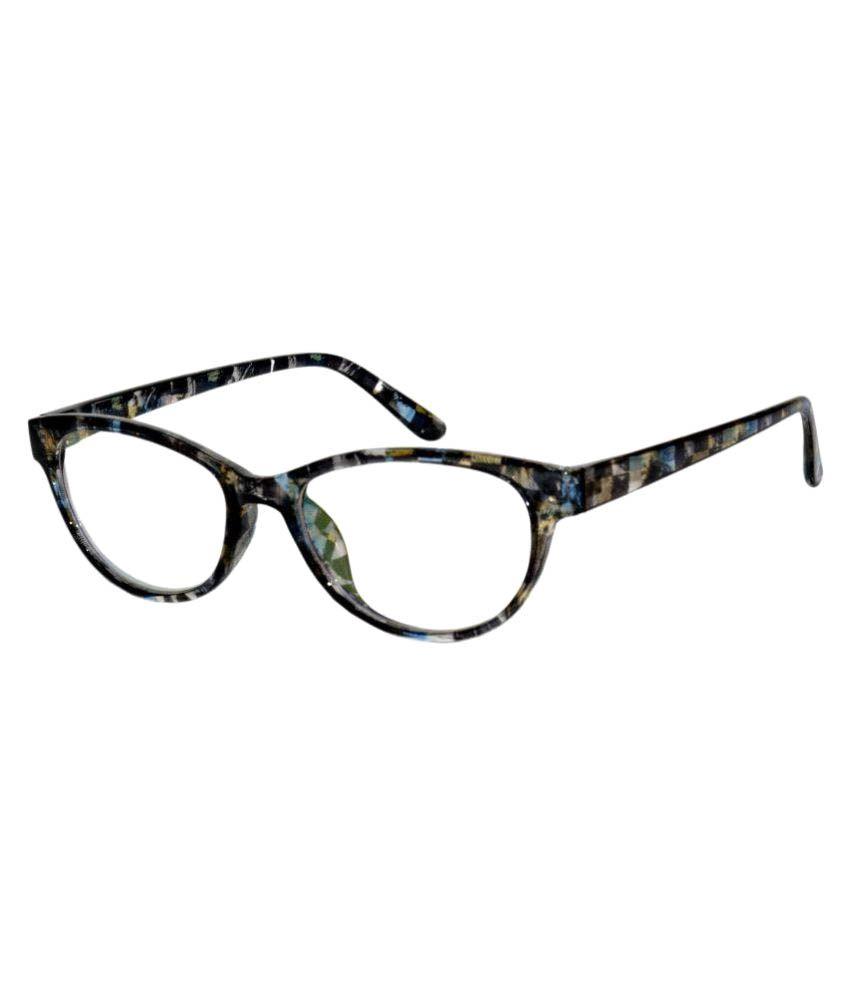 Peter Jones Multicolor Cateye Spectacle Frame cat-f