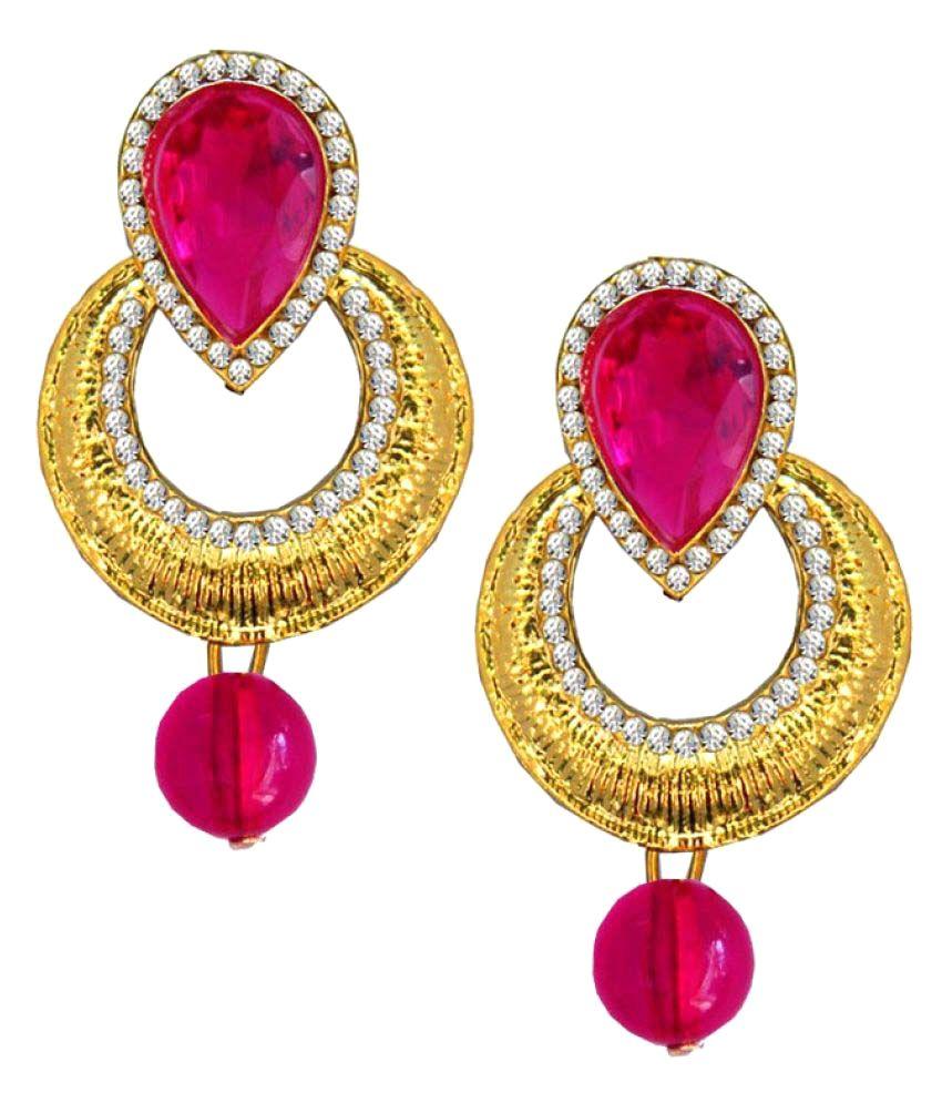 Pihu  Multicolour  Bollywood Deepika Padukon Inspired Chandbali Design Earring