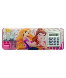 Techhark Barbie Pencil Box With Calculator For Kids