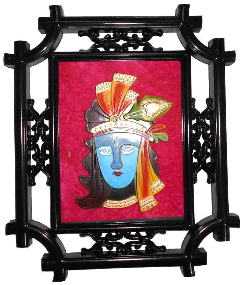 D-Style Wood Painting With Frame Single Piece