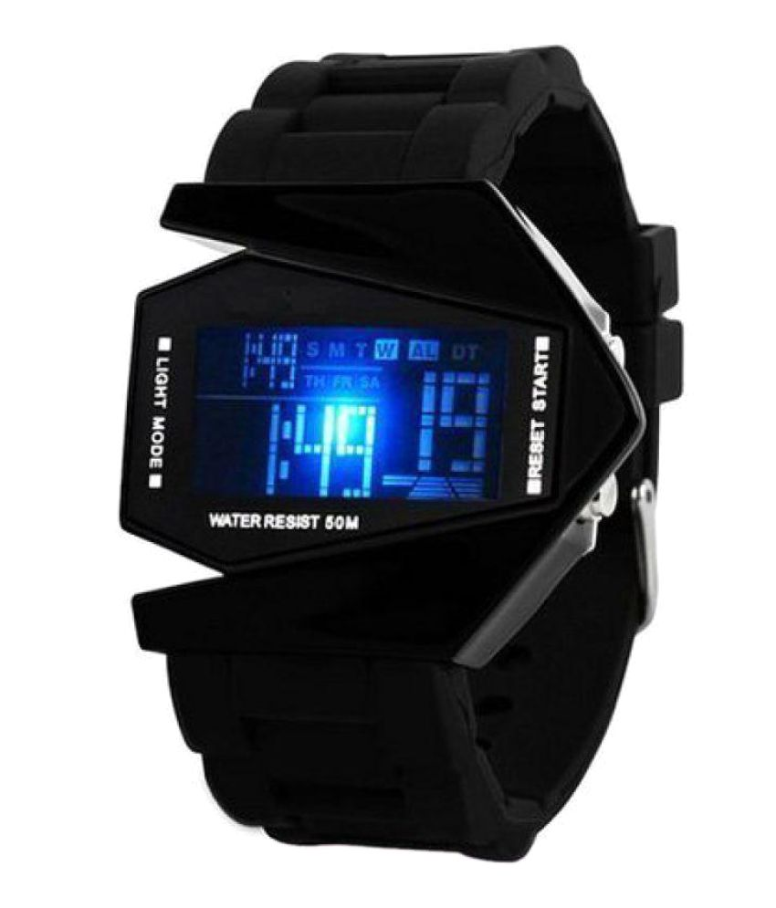 ba49af33b1c Aivor Watch Co. Black Digital Watch For Men - Buy Aivor Watch Co. Black  Digital Watch For Men Online at Best Prices in India on Snapdeal