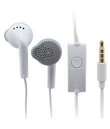 Sarthak AQUA ACE On Ear Wired Headphones With Mic White