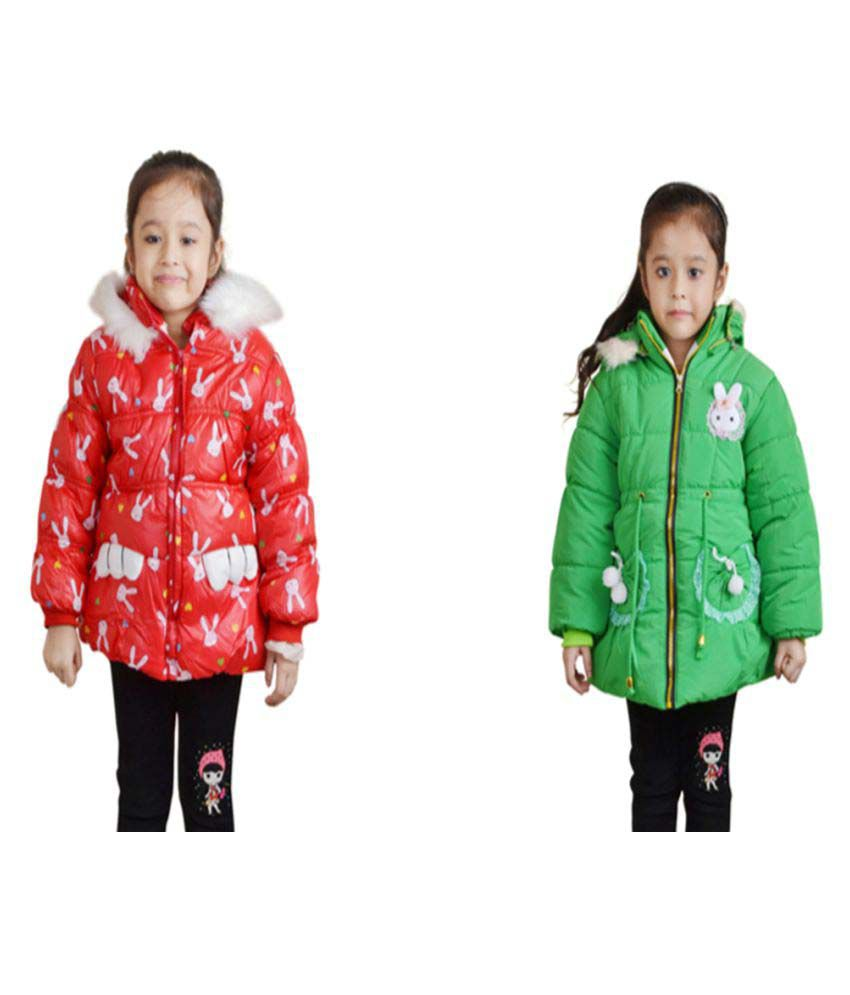 Qeboo Nylon Jackets - Combo of 2
