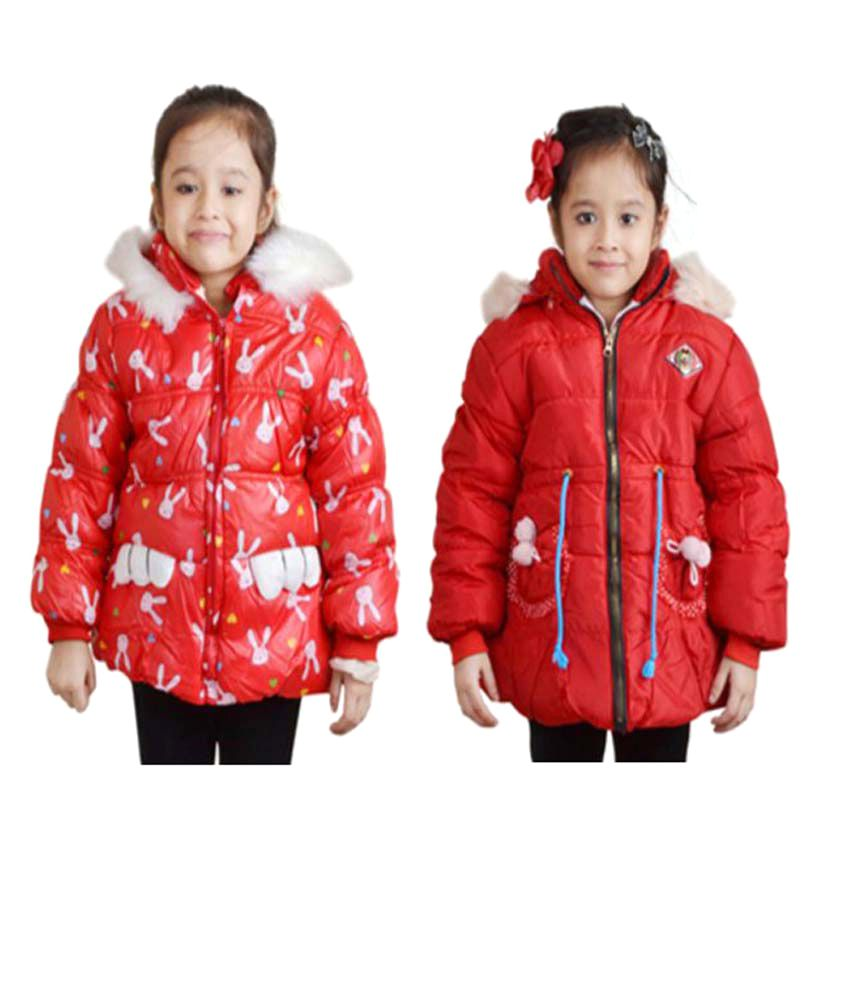 Crazeis Red Jacket - Pack of 2
