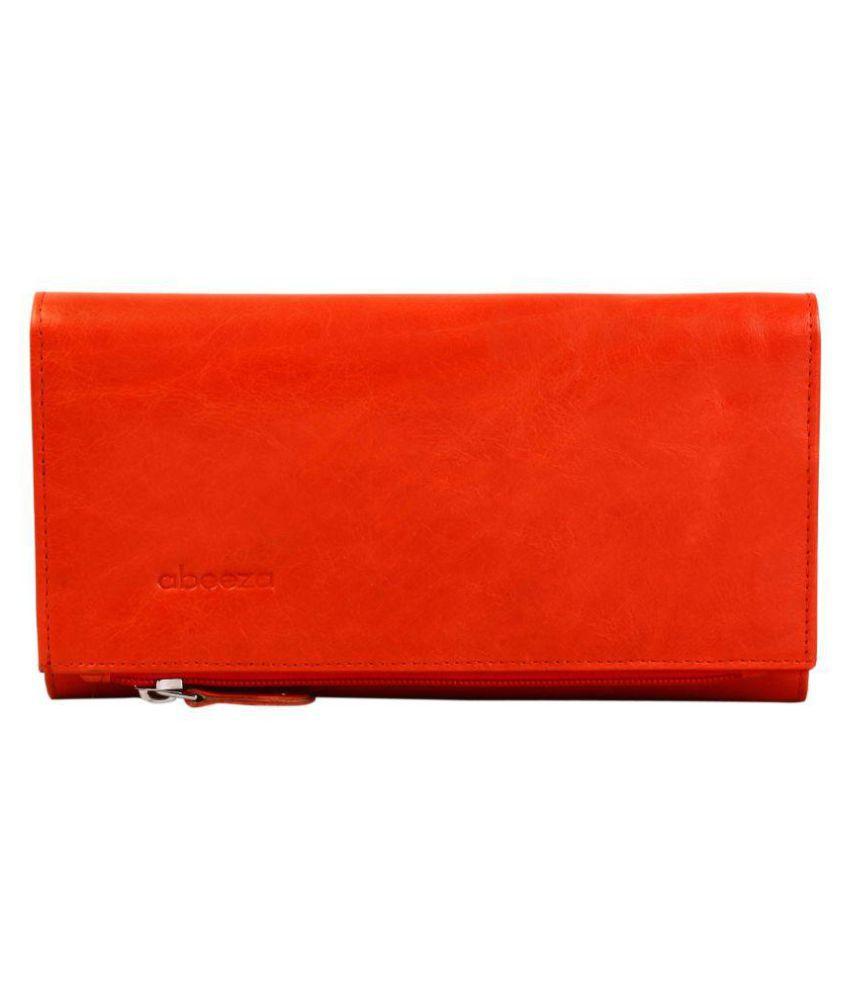 Abeeza Orange Wallet