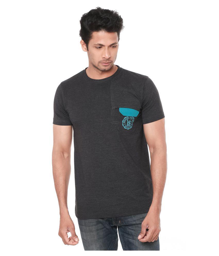Wexford Black Round T-Shirt