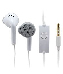 Sarthak Desire 526 On Ear Wired Headphones With Mic White