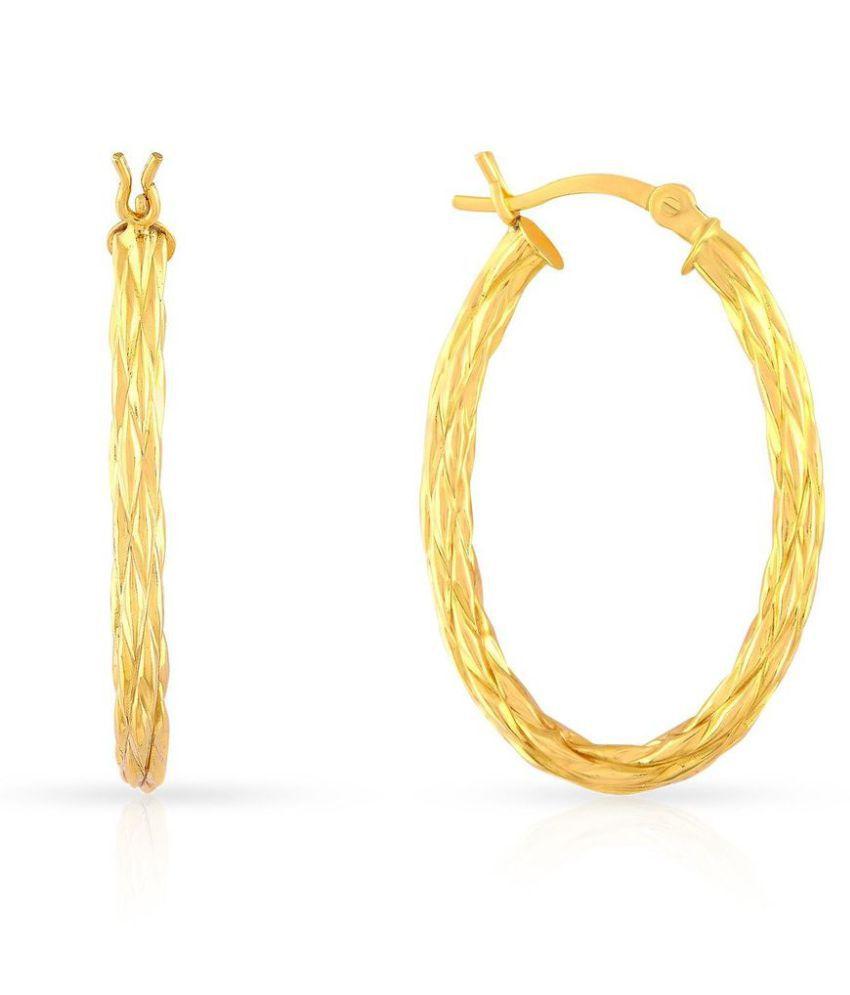 Malabar Gold and Diamonds 22k Gold Hoop