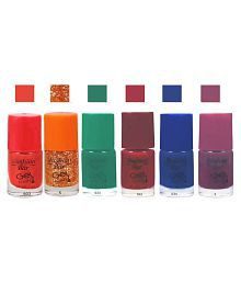 Fashion Bar Nail Polish Combo Offer In Wholesale Rate Matte 30 Ml Pack Of 6 - 682520790445