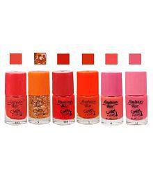 Fashion Bar Nail Polish Combo Offer In Wholesale Rate Matte 30 Ml Pack Of 6 - 662697346672