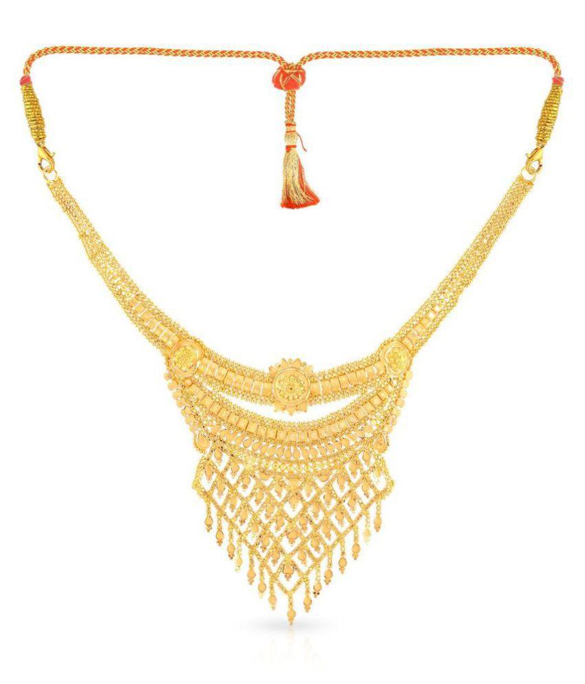 Malabar Gold and Diamonds 22k BIS Hallmarked Gold Necklace