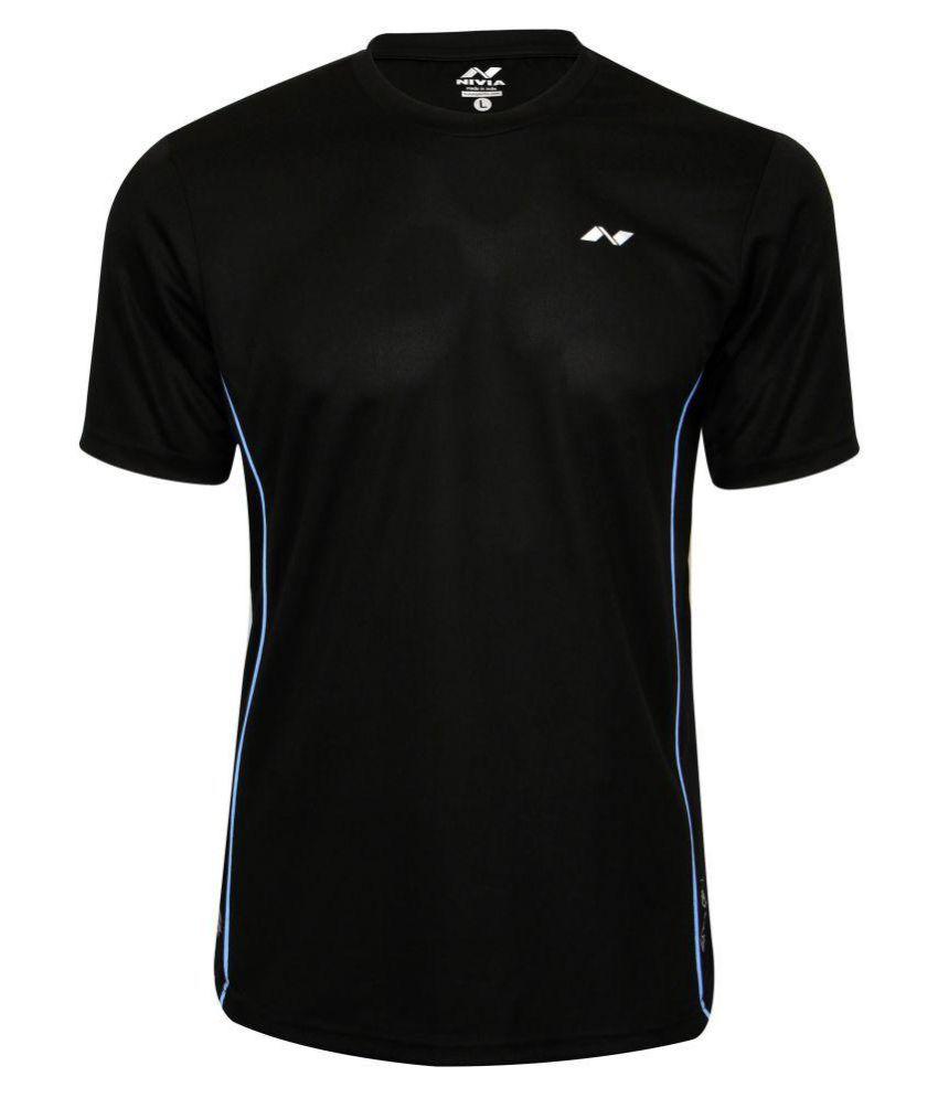 Nivia Running Fitness Tee-2216l-5