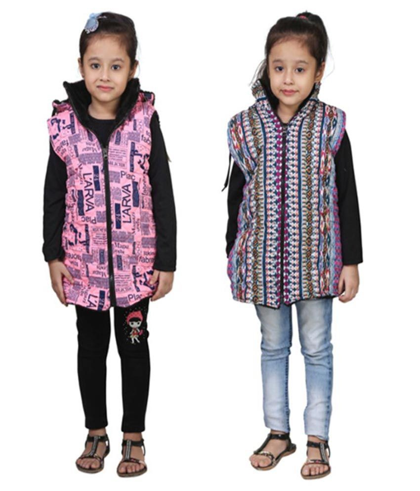 Crazies Multicolor Jacket - Pack of 2