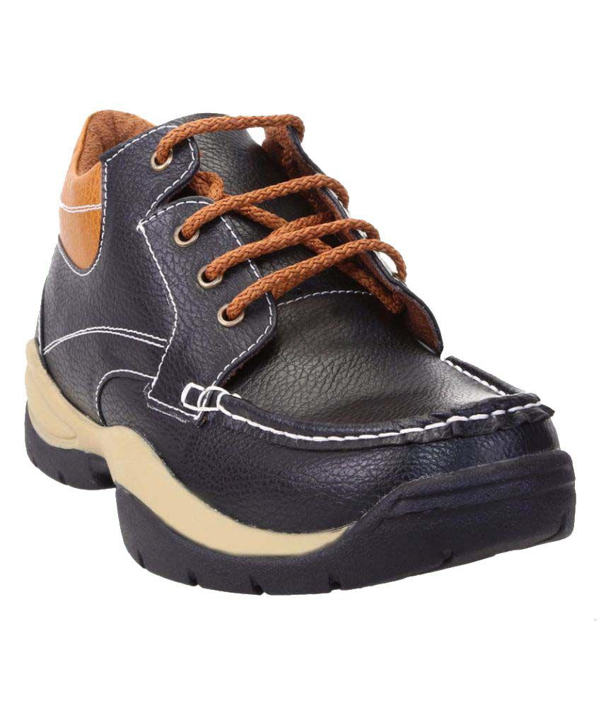 Zappy Black Casual Boot
