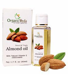 Organo Veda Almond Essential Oil Bath Kit