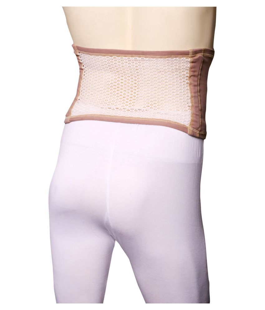 dca9eed8f52 Applikon Tummy Trimmer  Abdominal Belt Support Beige S available at  SnapDeal for Rs.299