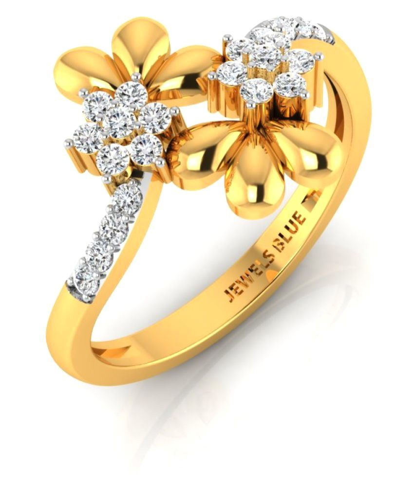 Gold24 14k Yellow Gold Ring