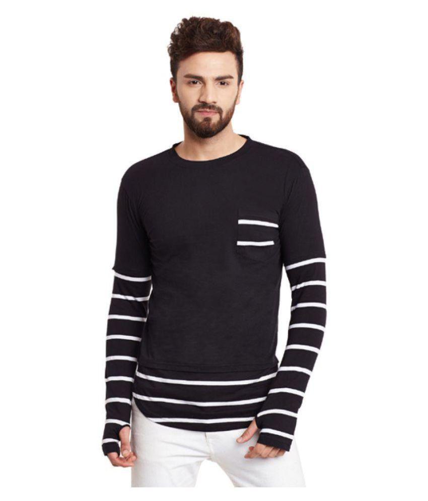 Hypernation Black Round T-Shirt