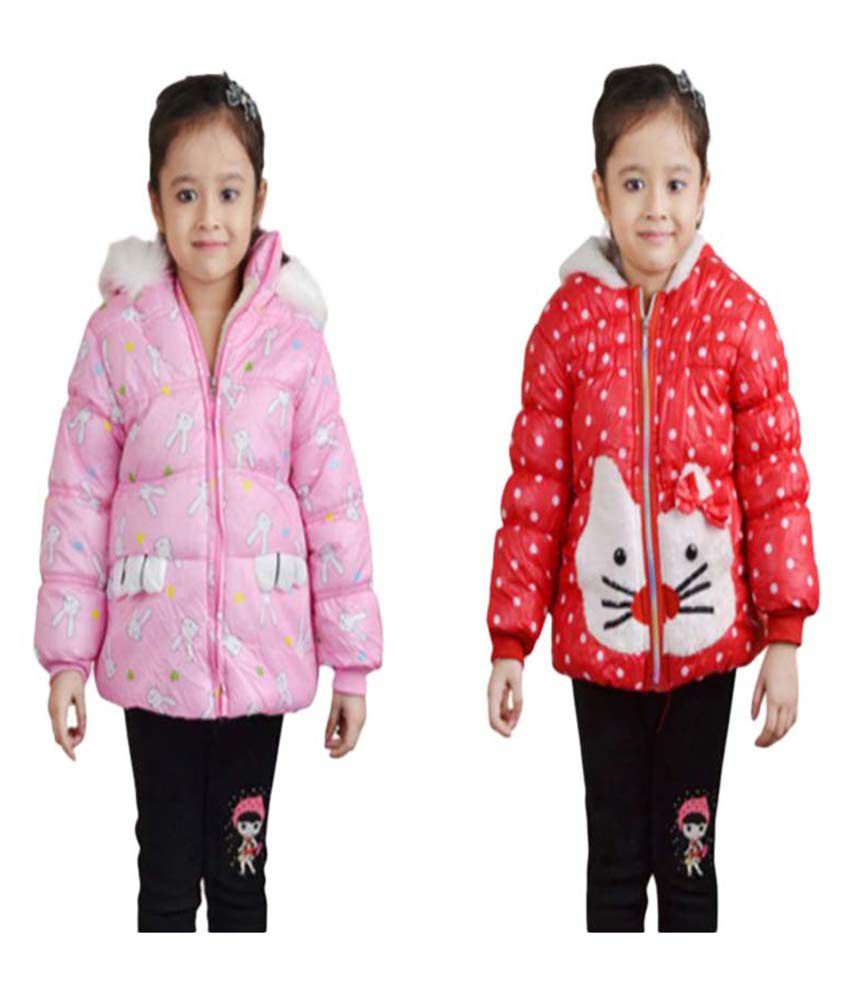 Crazeis Multicolor Jackets - Pack of 2