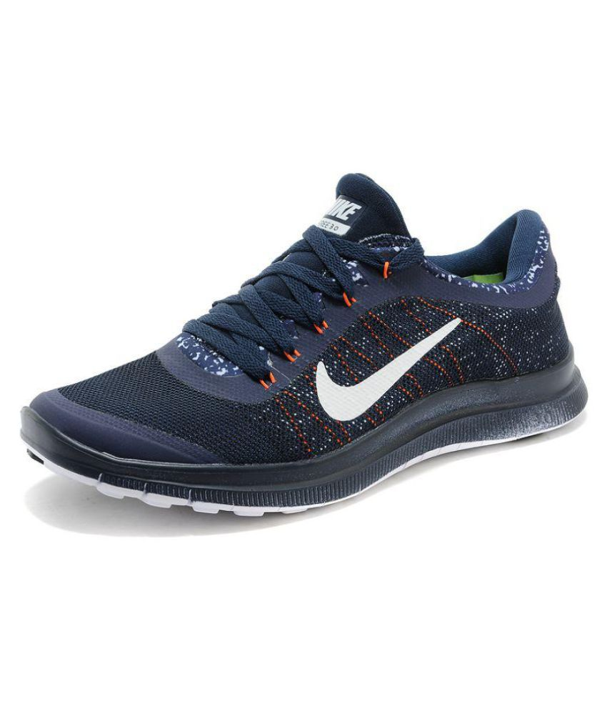 huge selection of 14681 62ed4 Nike Free 3.0 Navy Running Shoes - Buy Nike Free 3.0 Navy Running Shoes  Online at Best Prices in India on Snapdeal