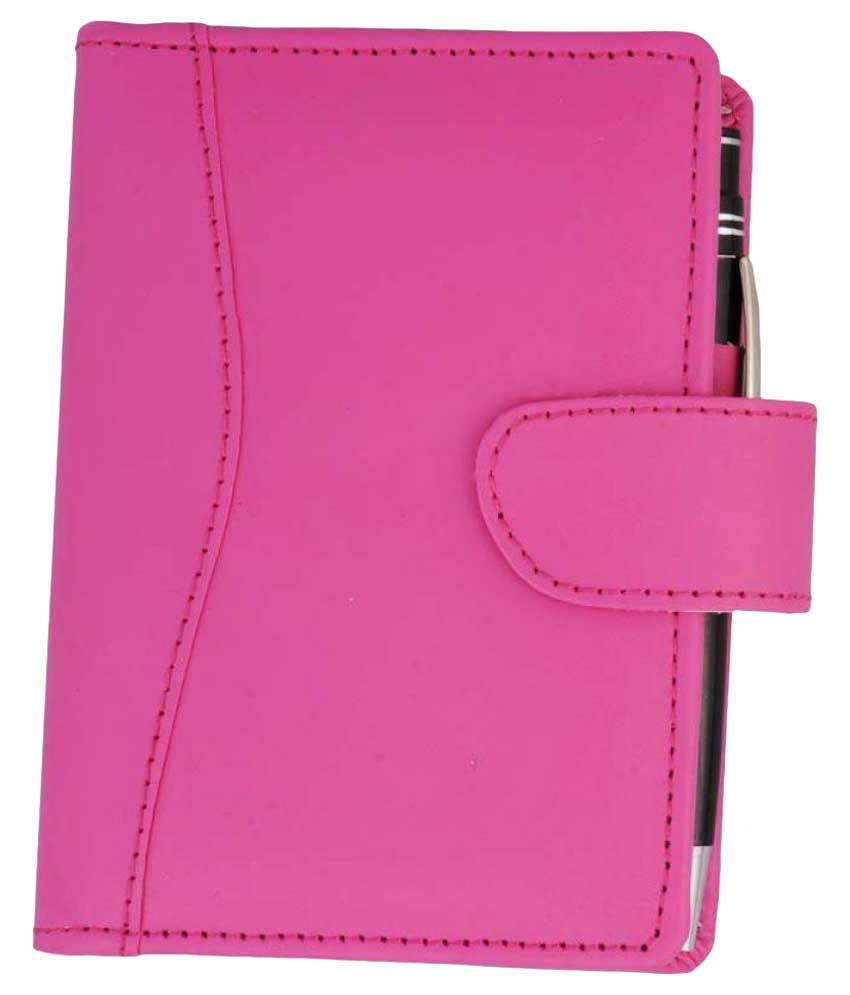 Coi Elegant Planner/Notebook and Memo Pad(Pink cover))
