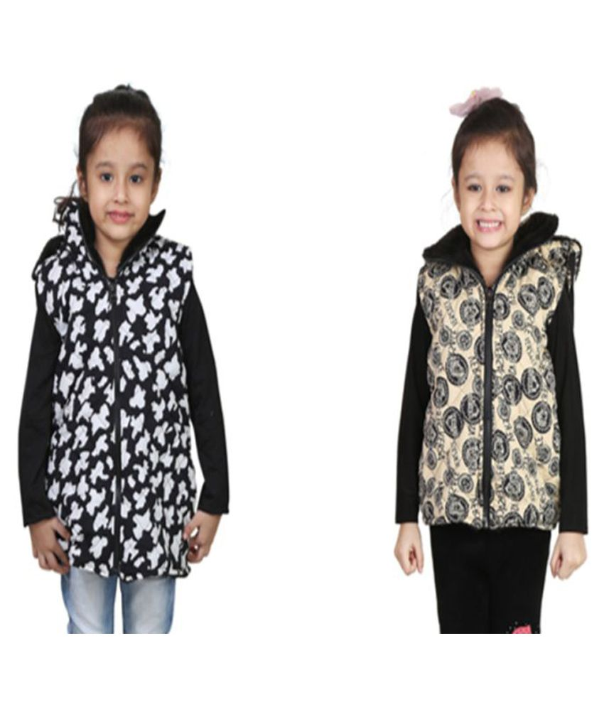 Qeboo Multicolor Woven Jackets - Pack of 2