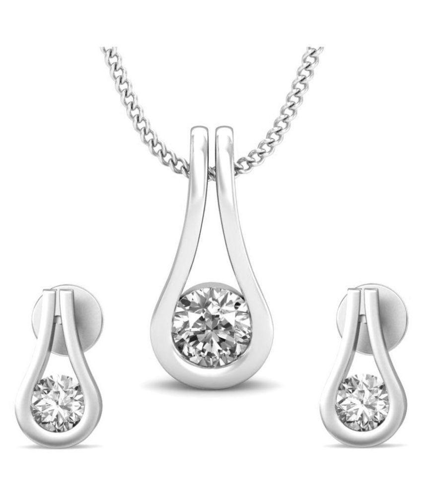 Carrydreams 92.5 Silver Necklace Set