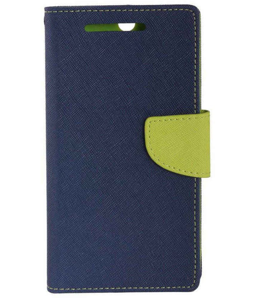 iBall Andi 5h Quadro Flip Cover by Zocardo   Blue available at SnapDeal for Rs.466