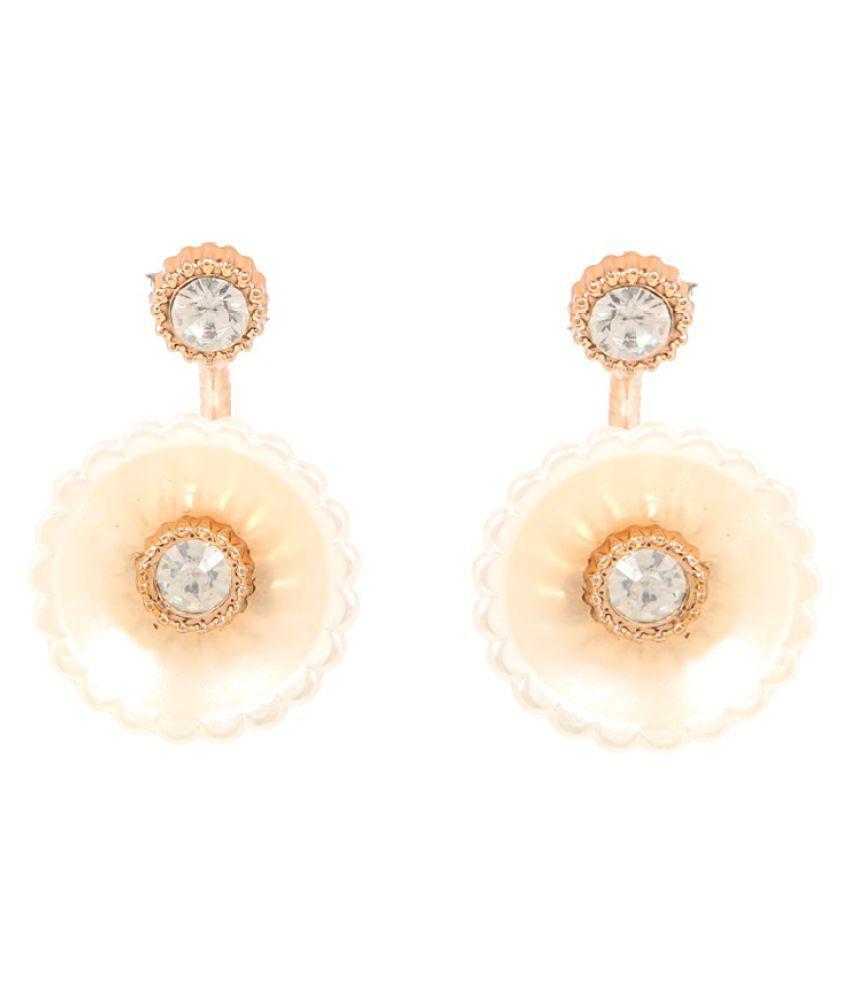 GoldNera Golden Hanging Earrings