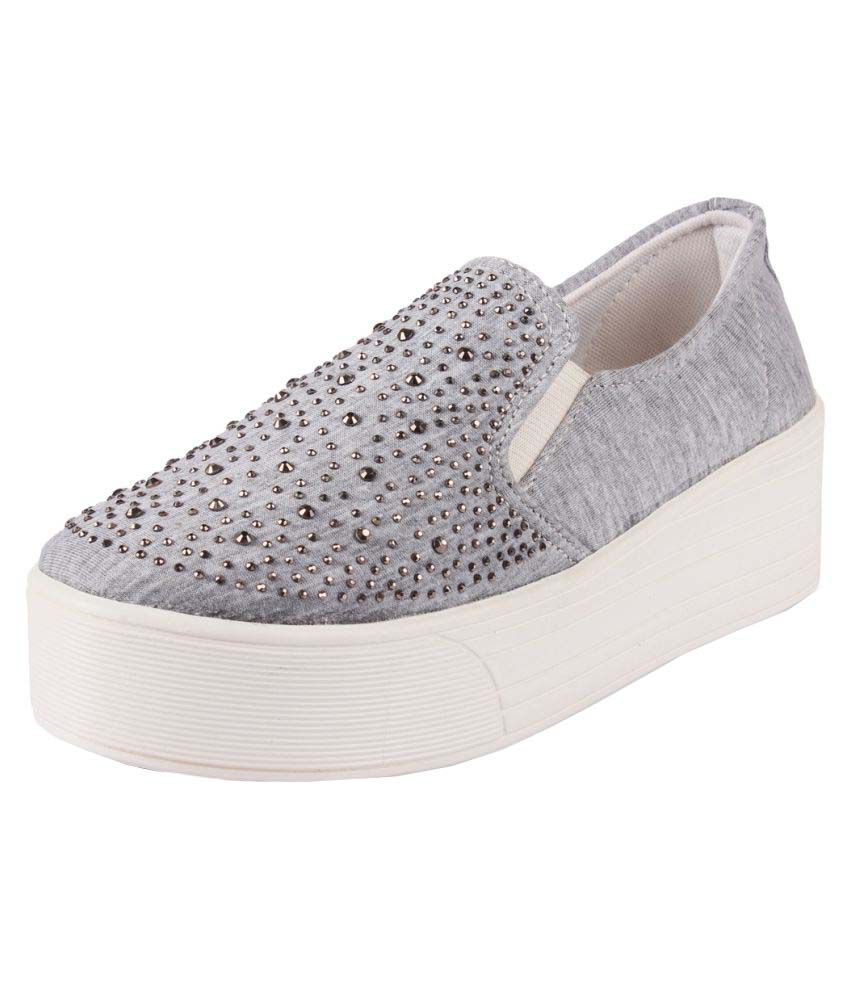 Anand Archies Gray Casual Shoes