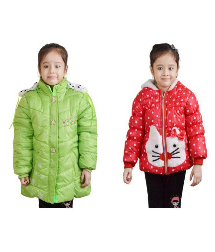 Crazeis Multicolour Full Sleeves Jackets- Pack of 2