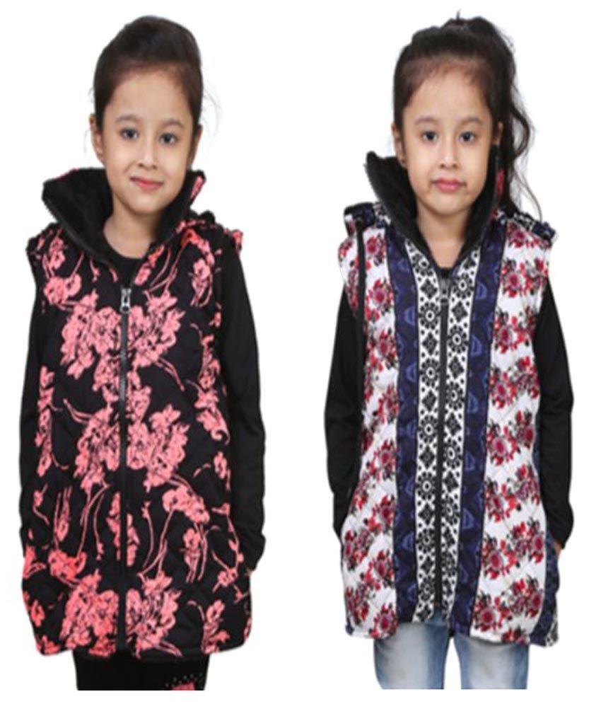 Crazies Combo Of Half Jacket For Girls