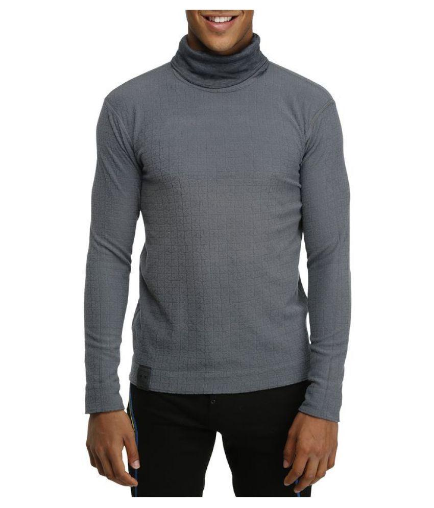 Wedze Grey Polyester Sweatshirt