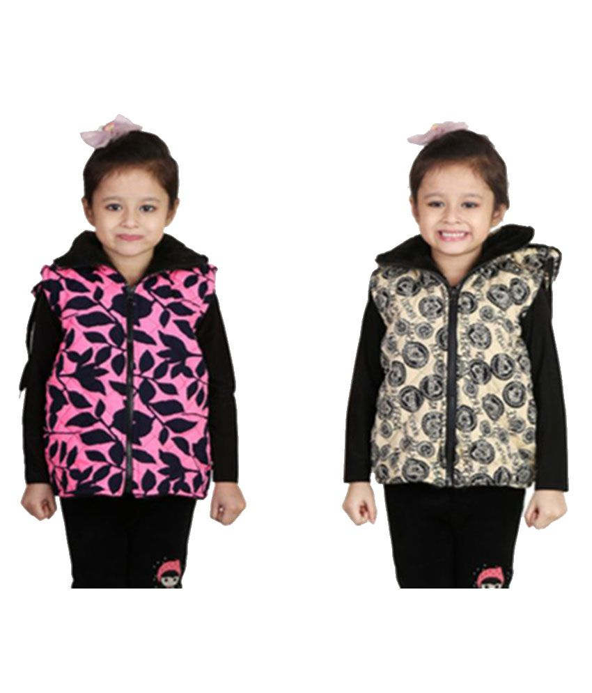 Qeboo Multicolor Nylon Jackets - Pack of 2
