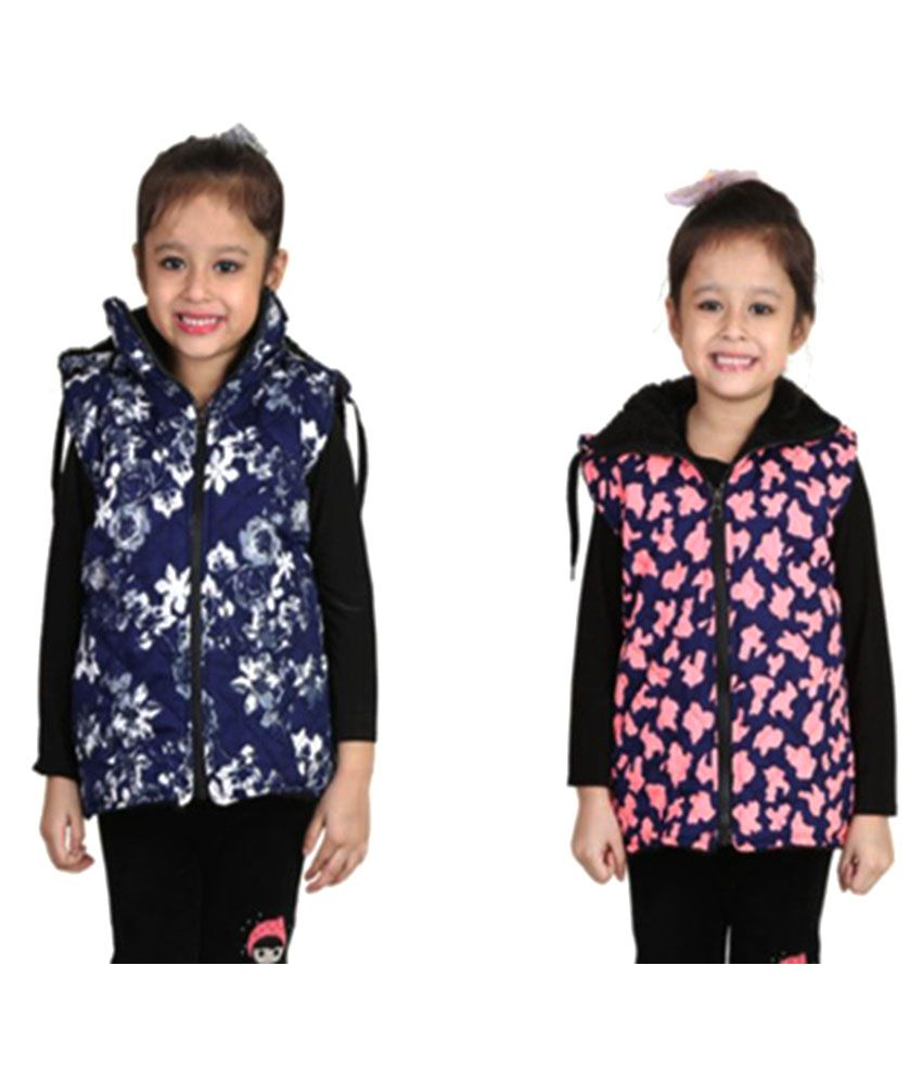 Crazies Multicolor Nylon Jackets - Pack of 2