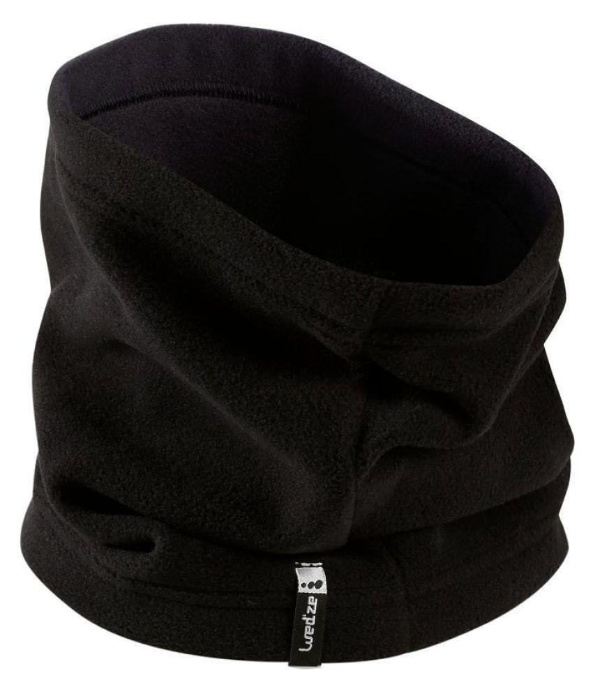 Wedze Black Polyester Bandana