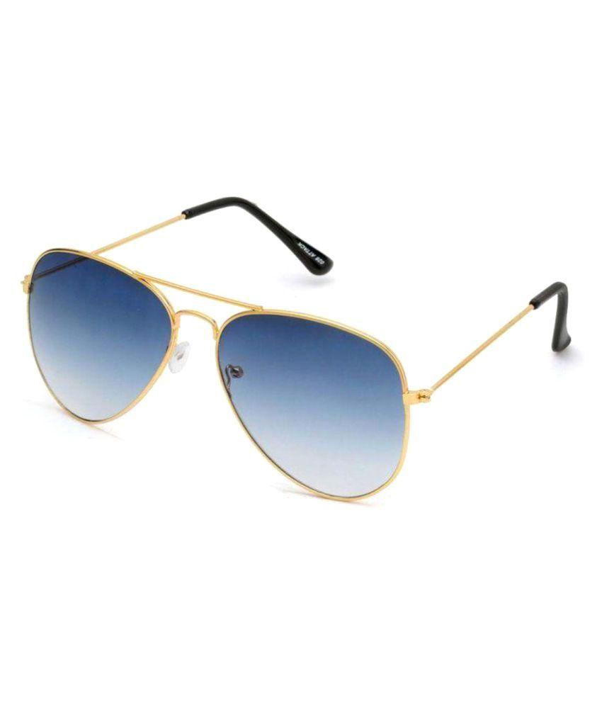 Lepot Blue Aviator Sunglasses APTSg11