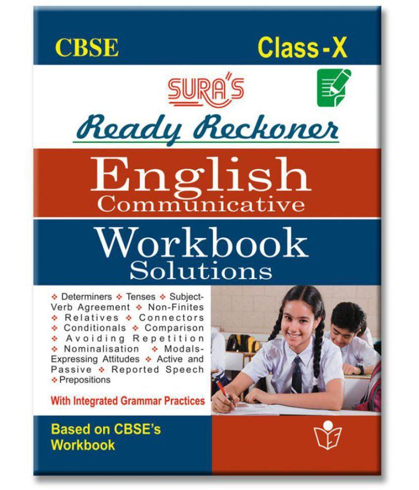 10th Standard CBSE (Ready Reckoner) English Work Book