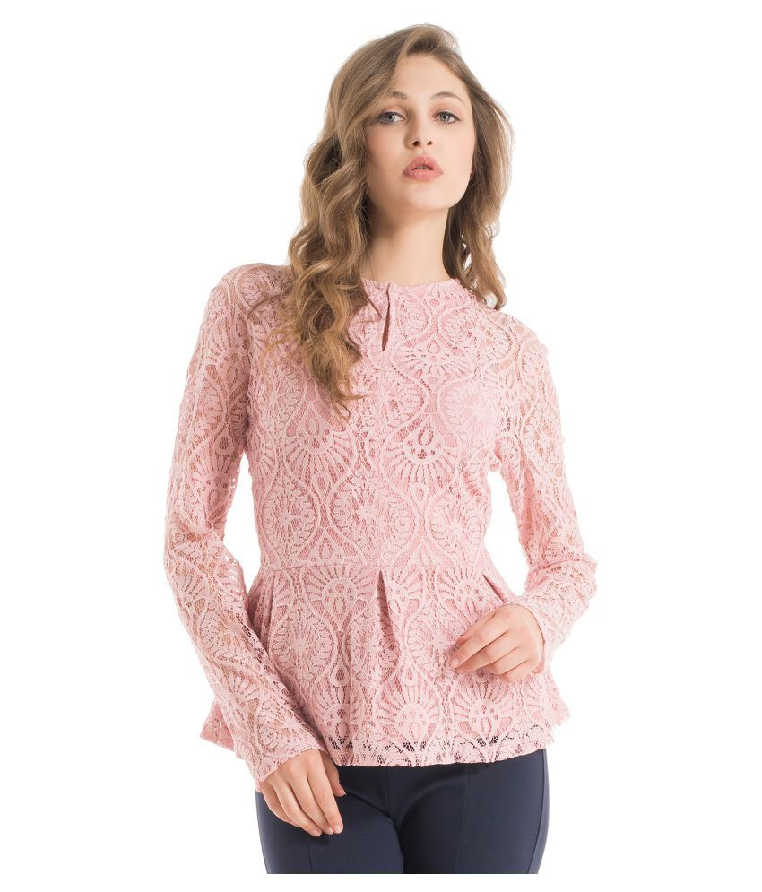 f7a04304f98846 Kazo Lace Peplum Tops - Buy Kazo Lace Peplum Tops Online at Best Prices in  India on Snapdeal