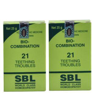 SBL BIOCOMBINATION NO  21 TABLET Tablet 25 gm